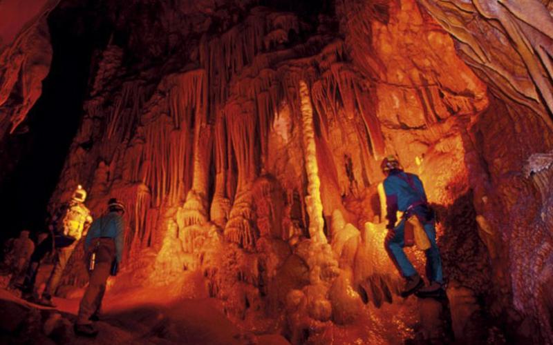 The grotte dei Cocci